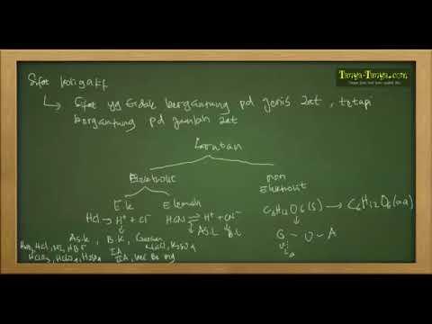 Belajar Kimia : Materi dan Contoh Soal Sifat Koligatif Part 2