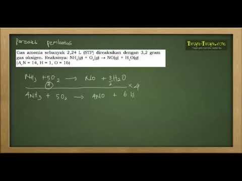 Belajar Kimia : Konsep Mol & Stoikiometri Reaksi Part 4