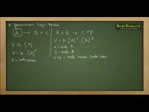 Belajar Kimia : Materi dan Contoh Soal Laju Reaksi Part 2