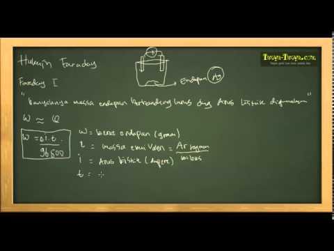 Belajar Kimia : Materi dan Contoh Soal Elektrolisis & Hukum Faraday
