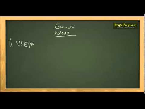 Belajar Kimia: Materi dan Contoh Soal Ikatan Antarmolekul & Geometri Molekul