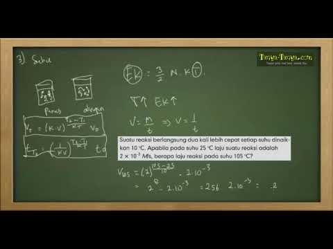 Belajar Kimia : Materi dan Contoh Soal Laju Reaksi Part 4