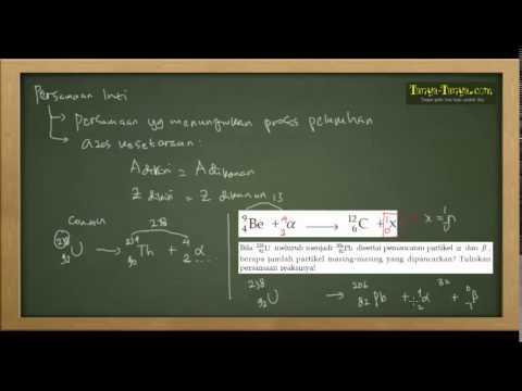 Belajar Kimia : Materi dan Contoh Soal Unsur Radioaktif
