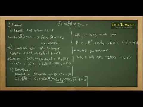 Belajar Kimia : Senyawa Karbon (Senyawa Organik) Part 4