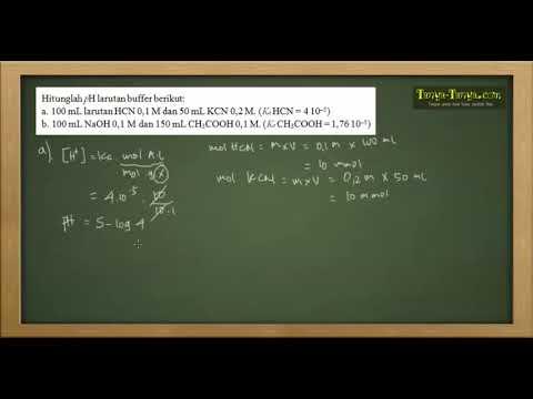Belajar Kimia : Larutan Penyangga/Buffer Part 2