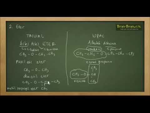 Belajar Kimia : Senyawa Karbon (Senyawa Organik) Part 2
