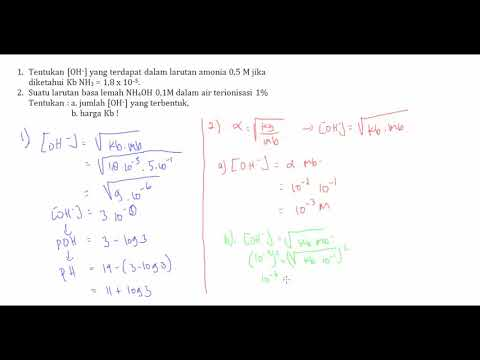 Belajar Kimia : Asam Basa Part 3