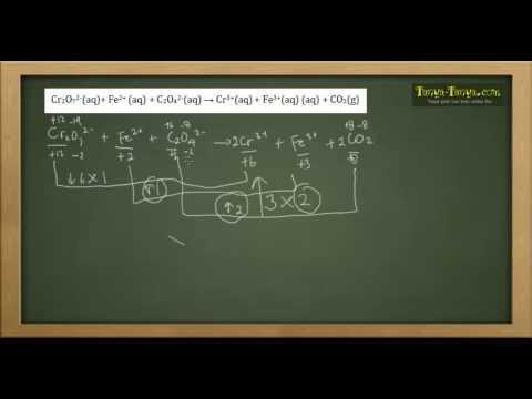 Belajar Kimia : Materi dan Contoh Soal Penyetaraan Reaksi Redoks