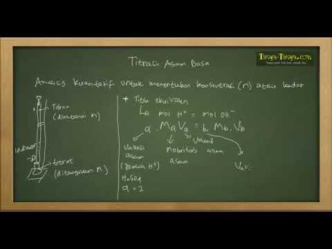 Belajar Kimia : Titrasi & Stoikiometri Asam Basa Part 1