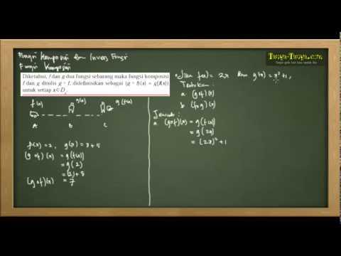 Belajar Matematika : Materi dan Contoh Soal Komposisi