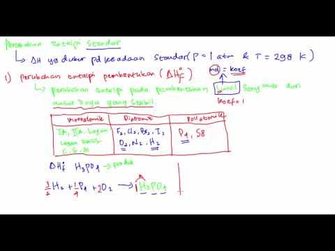 Belajar Kimia : Materi dan Contoh Soal Termokimia Part 2