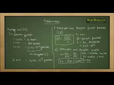 Belajar Kimia : Konsep Mol & Stoikiometri Reaksi Part 1