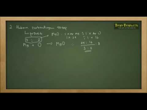 Belajar Kimia : Hukum Dasar Kimia Bagian 1
