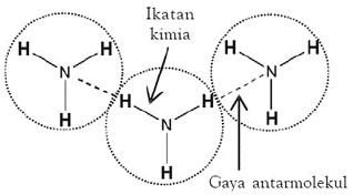Ikatan antar molekul