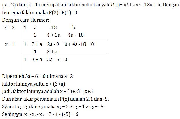 38++ Soal polinomial kelas 11 dan jawabannya ideas in 2021